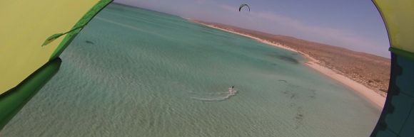 Sandy bay kitesurfen 2