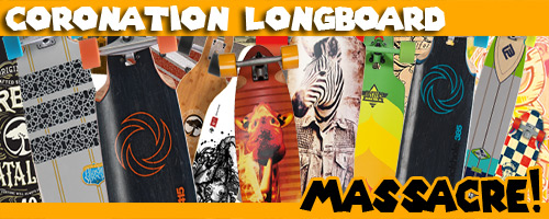 Coronation Longboards Massacre Weihnachten 2014