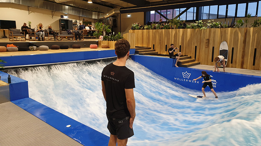 Wellenwerk Berlin - Surf Indoor