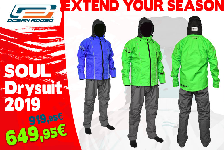 Ocean Rodeo Drysuit SALE!