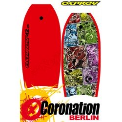 Osprey Page Red Bodyboard