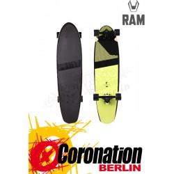 RAM Blacker burned olive 2015 Komplett Longboard