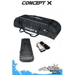 Concept-X Kitebag Voyager 139 Reise-Kiteboard-Bag avec roulettes