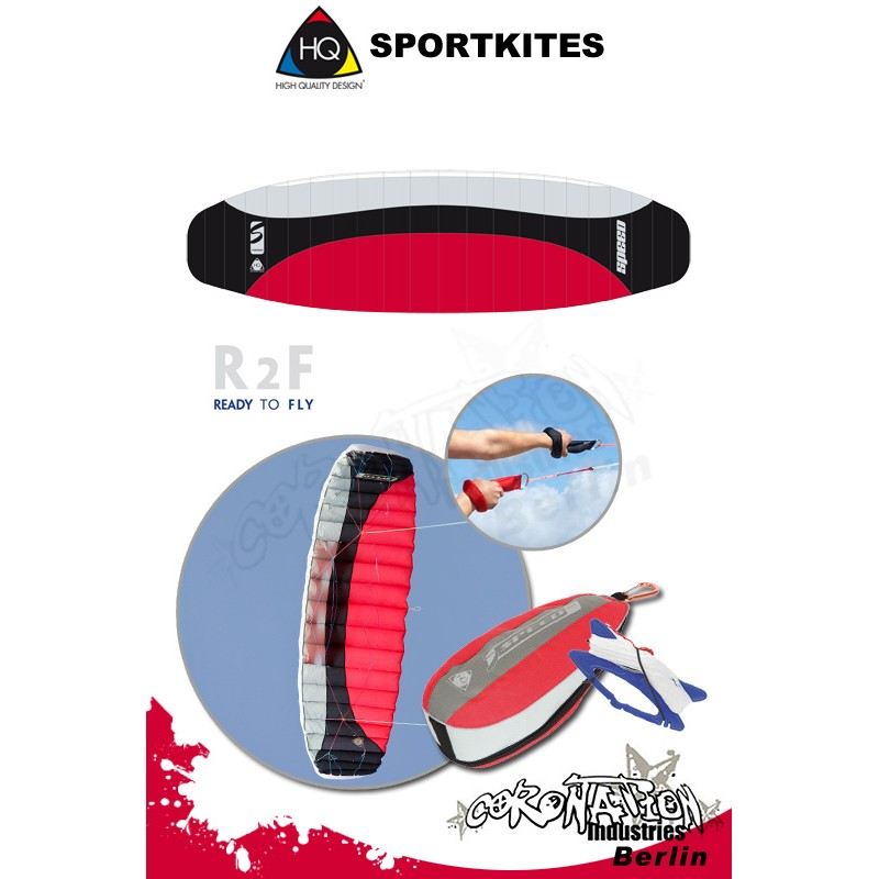 HQ Sportkites Powerkite Symphony Speed 2.5 R2F