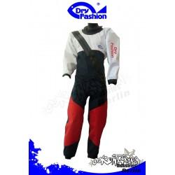 Dry Fashion Trockenanzug Profi-Sailing Regatta - Weiss/Navy/Rot