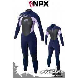 NPX femme combinaison neoprène Serene SD 5/4/3 E3 - bleu/Purple