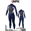 NPX Frauen Neoprenanzug Serene SD 5/4/3 E3 - Blau/Purple