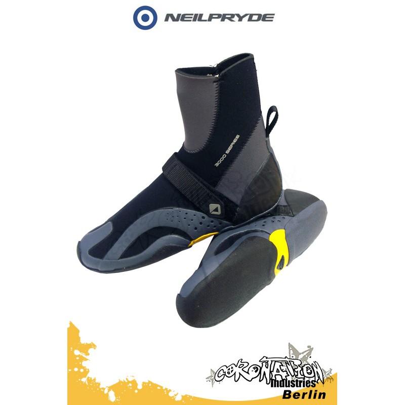 Neil Pryde 3K HC Round 4mm Kite-Schuh - dark grey