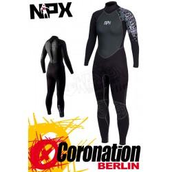 NPX Vamp SD 5/4/3 for woman neopren suit Black Violet