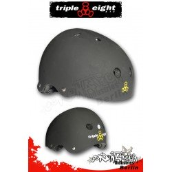 Triple Eight Brainsaver Black Rubber
