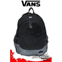 Vans Van Doren Black-Castlerock-Grau Schul & Street Rucksack