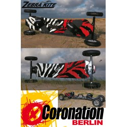 Zebra Zulu Mountainboard ATB Board All Terrain Landboard