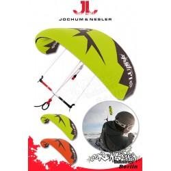 JN Luis Snowkite Kite 7.0 Grün