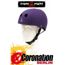 Triple Eight Brainsaver Purple Rubber