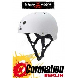 Triple Eight Brainsaver White Rubber