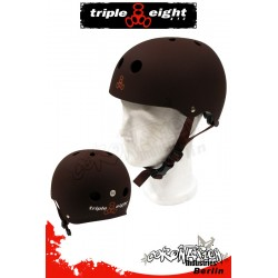 Triple Eight Brainsaver Brown Rubber