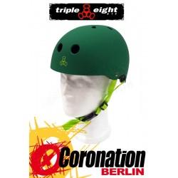 Triple Eight Brainsaver Kelly green Rubber