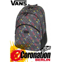 Vans Checkerboard Backpack Street-Fashion & Freizeit Rucksack Grey/Stars
