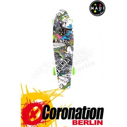 Maui & Sons Printed Cali Kicktail Board