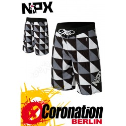 NPX Boardshort Origami Grey/Black