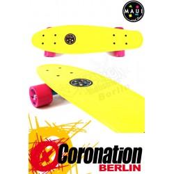 Maui & Sons Cookie Yellow Cruiser Board