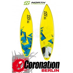 North Pro Series Waveboard inkl. PADS + STRAPS