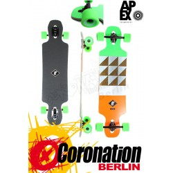 Apex Longboard Alley Maple Neon completeboard