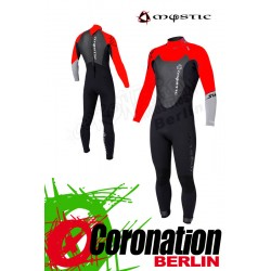 Mystic Star Steamer 5/4 Fullsuit Neoprenanzug Black/Red