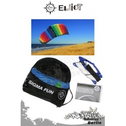 Elliot Sigma Fun 1.6 R2F mit Controlbar - Softkite rainbow