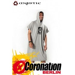 Mystic Hanagover Poncho Men grey