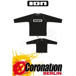 ION Wetshirt LS Ion LOGO Black Watershirt