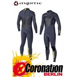 Mystic Majestic Neoprenanzug 5/4 D/L Full Wetsuit Back-Zip Grey