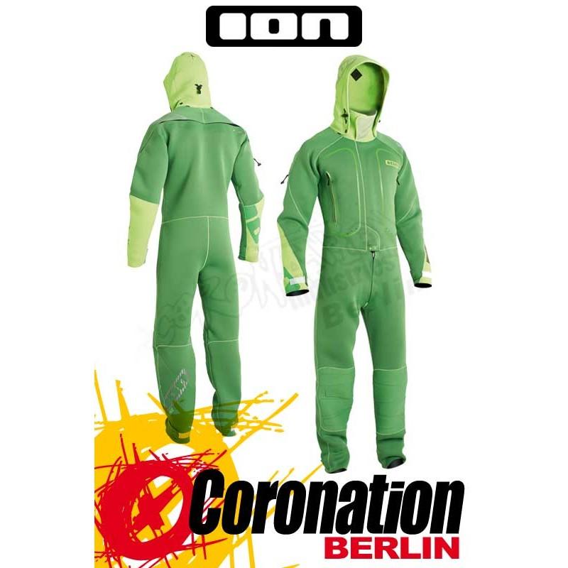 ION Fuse Drysuit 4/3 DL 2014 Trockenanzug  green