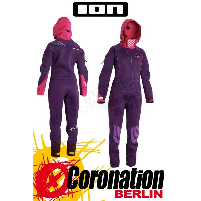 Ion Envee Drysuit 4/3 DL 2014 Frauen Trockenanzug Purple