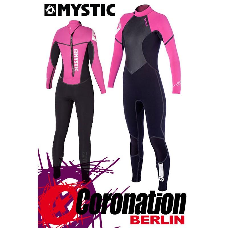 Mystic Diva 5/4 D/L Full femme combinaison neoprène Wetsuit Pink