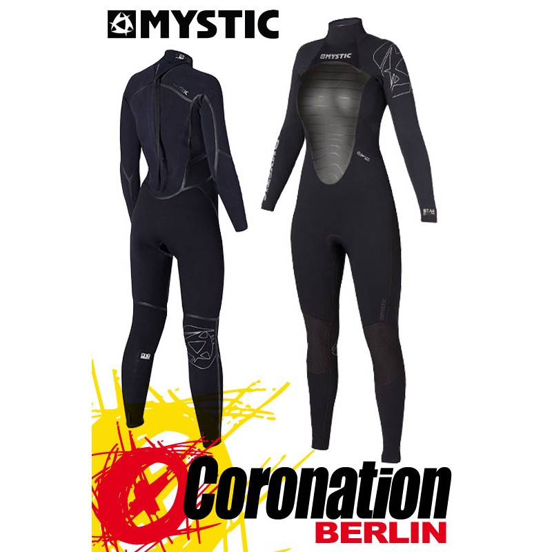Mystic Star 5/4 D/L femme combinaison neoprène Black