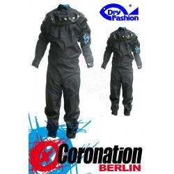 Dry Fashion Trockenanzug Black Performance Silikon Blau