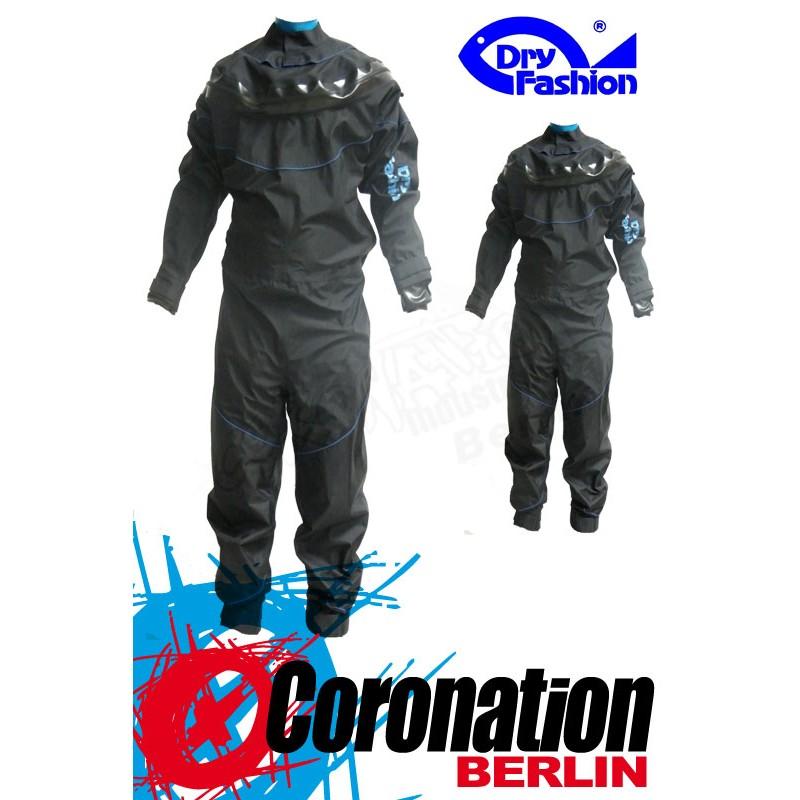 Dry Fashion Trockenanzug Black Performance Silikon bleu
