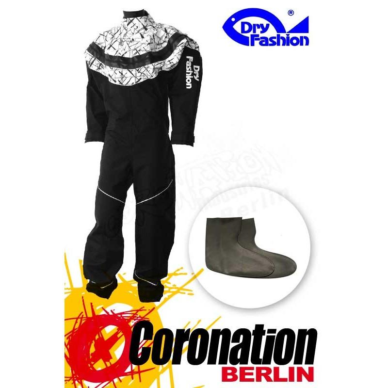 Dry Fashion Black Performance - Print Weiß mit Füßlinge