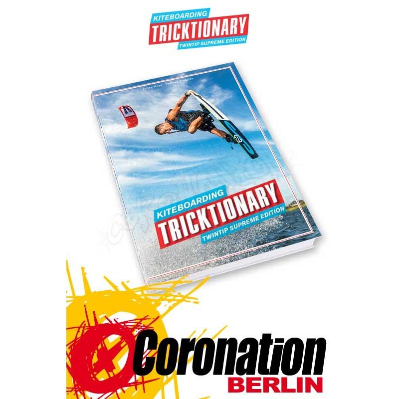 Tricktionary Kite Lehrbuch pour Kitesurf Tricks