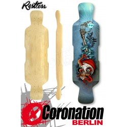 "Restless Deck Fishbowl 39"" Downhill Freeride Longboard-Deck"