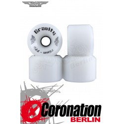 Gravity wheels High Grade 76mm 77a wheels - white