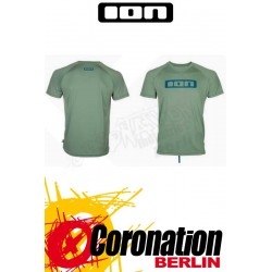 ION Wetshirt SS Logo hedge green Quickdry T-Shirt