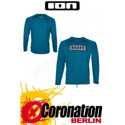 ION Wetshirt LS Logo moroccan blue