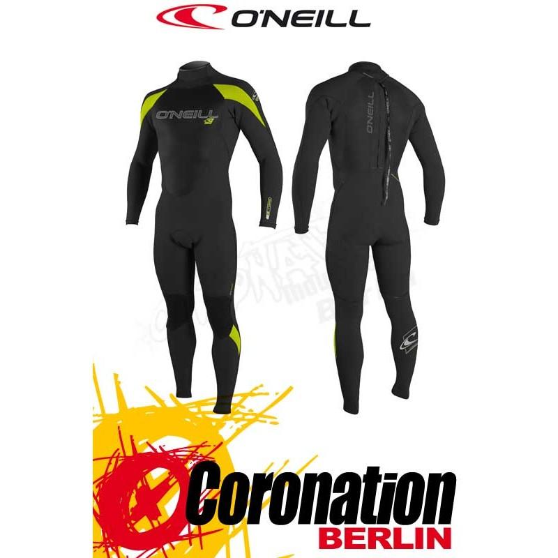 O'Neill EPIC 5/4 combinaison neoprène Blk/Blk/Lime
