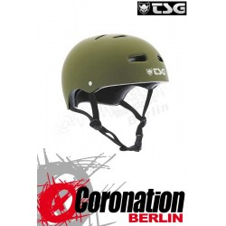 TSG Helm Skate/BMX Solid Colors Flat Olive