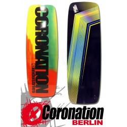 Coronation Kiteboard LW Rasta 144 Leichtwind Einsteiger