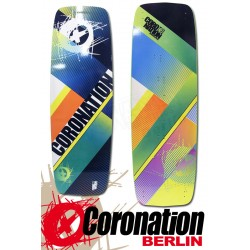 Coronation Kiteboard LW Stripes 149 vent léger Einsteiger