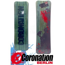 Coronation Kiteboard Big WOOD 160 vent léger - bleu