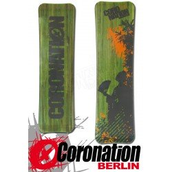 Coronation Kiteboard Big WOOD 160 vent léger - GRÜN